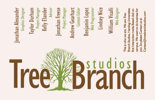 Tree Branch Studios Poster Design 1
